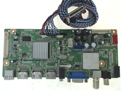 Seiki TV Model SE391TS Main Audio Video HDMI Tuner Board Part Number 1205H0991A