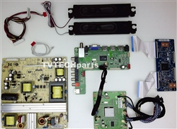 13120002 Complete board kit for Westinghouse DWM55F1Y1 version TW-75901-C055C