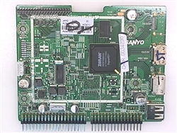 SANYO TV Model DP42740 Main Digital Board 1LG4B10Y06900.J4HG