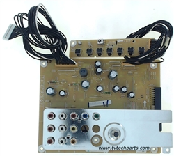 Sanyo TV Model DP55D33 Audio Video Tuner Input Board Part Number 1LG4B10Y104AA-Z6WE