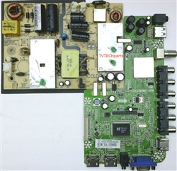 33H0342A, CV3393BH-APW, CVB39001 Main board and power supply for Seiki SE39FT11