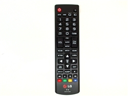 LG TV Remote Control Part Number AKB73715608