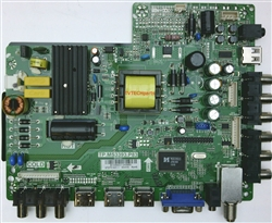 B13084431, TP.MS3393.P33 Main video board and power supply for Proscan PLEDV2845A