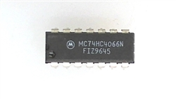 MC74HC4066N MOTOTROLA QUAD ANALOG SWITCH