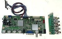 Seiki Television Model SE501TS Main Audio Video Tuner HDMI Input Board Part Number 1206H1122A