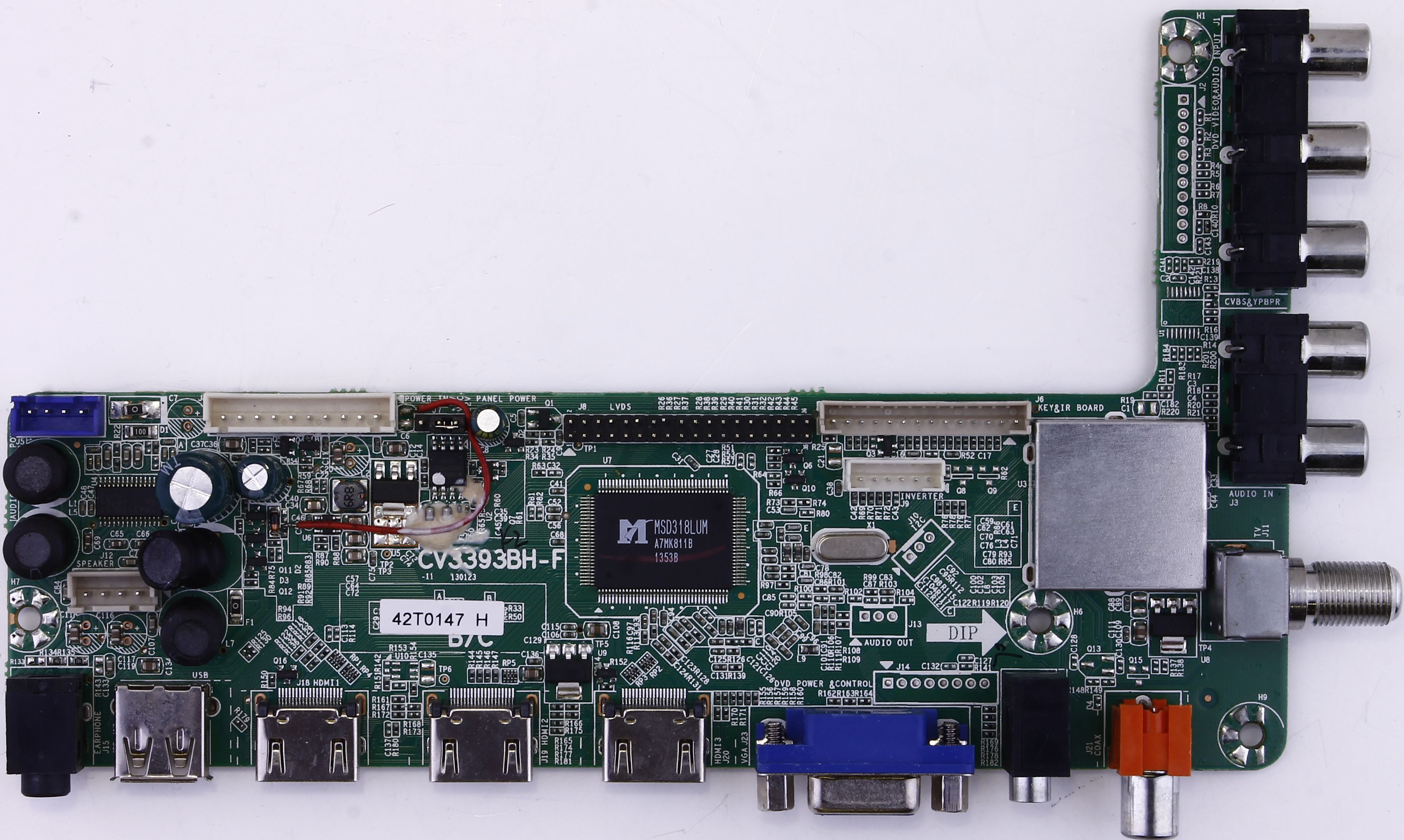 42T0147 Westinghouse main board for TW-77521-A050D