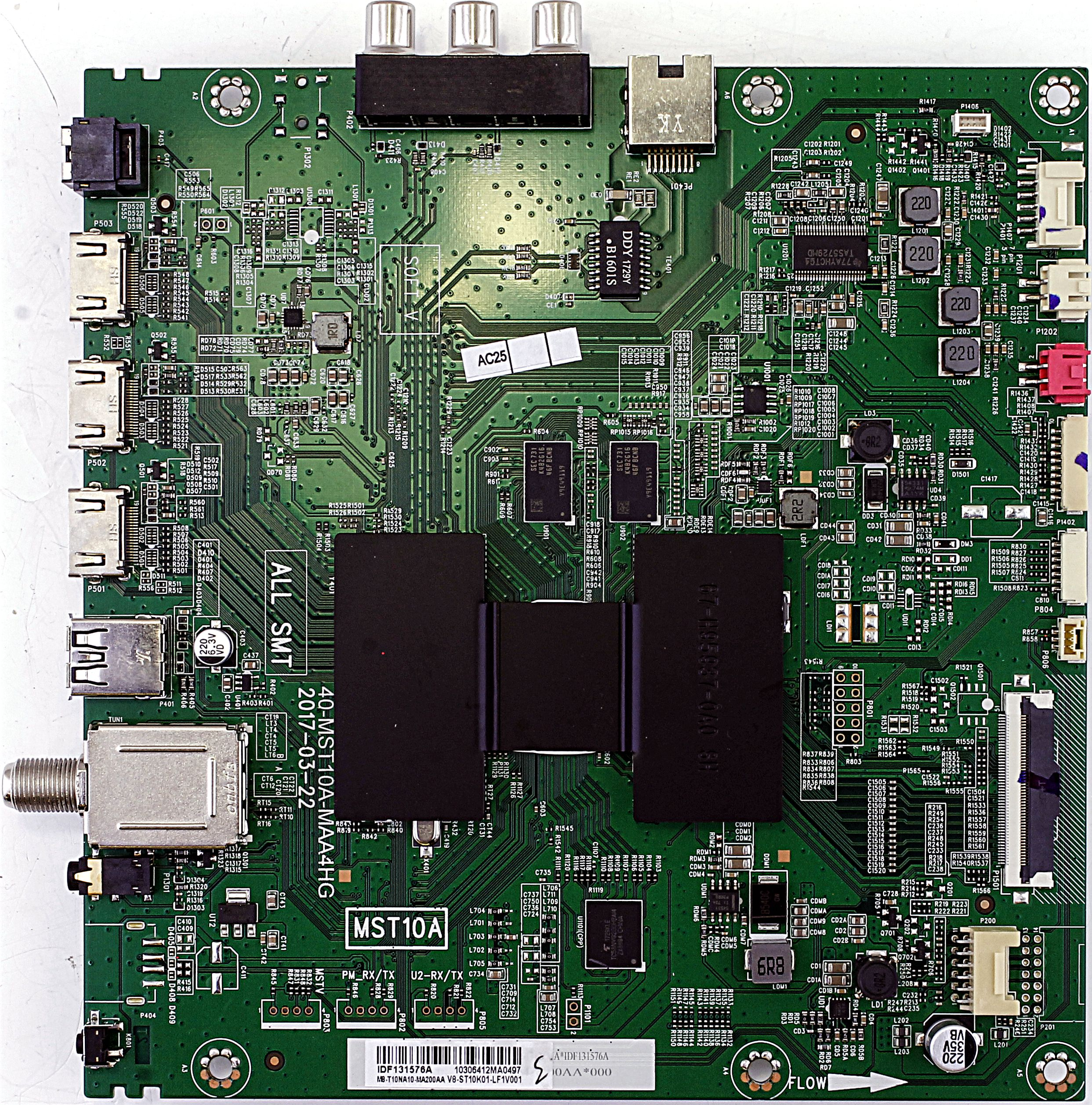 X490187 Hitachi main board for TV model 60R70