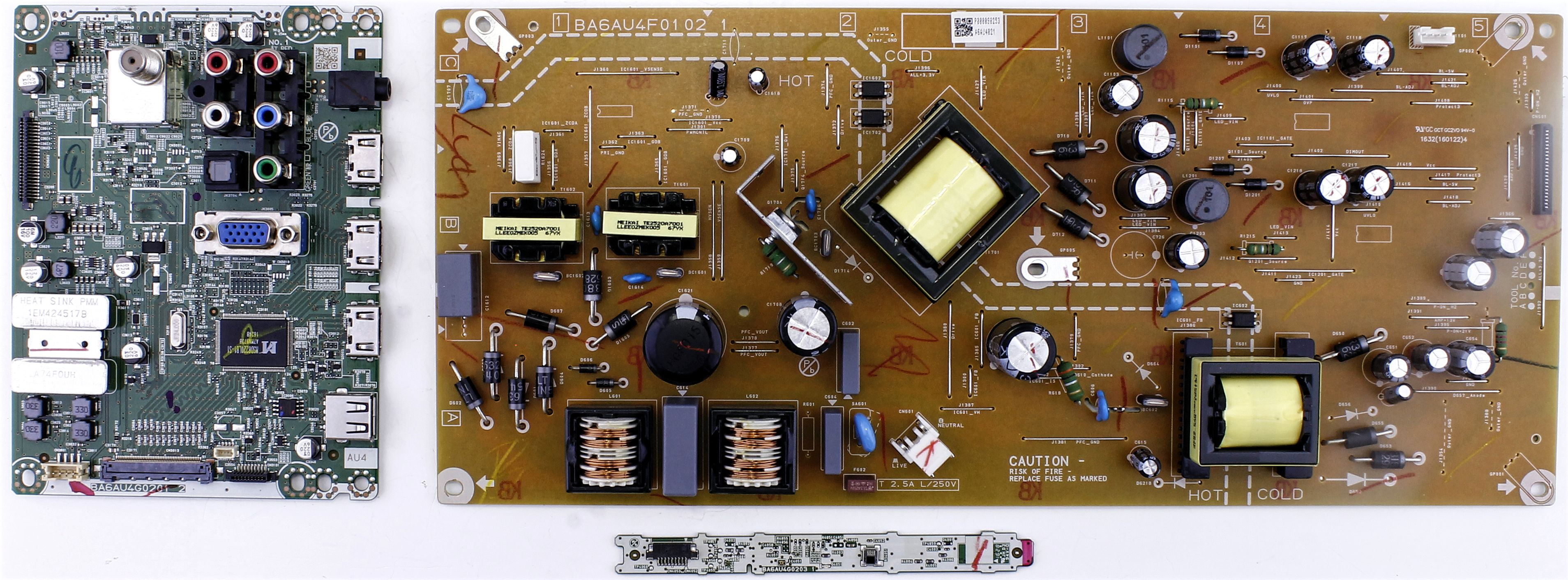 BA6AU4G0201 Sanyo board kit for FW50D36F