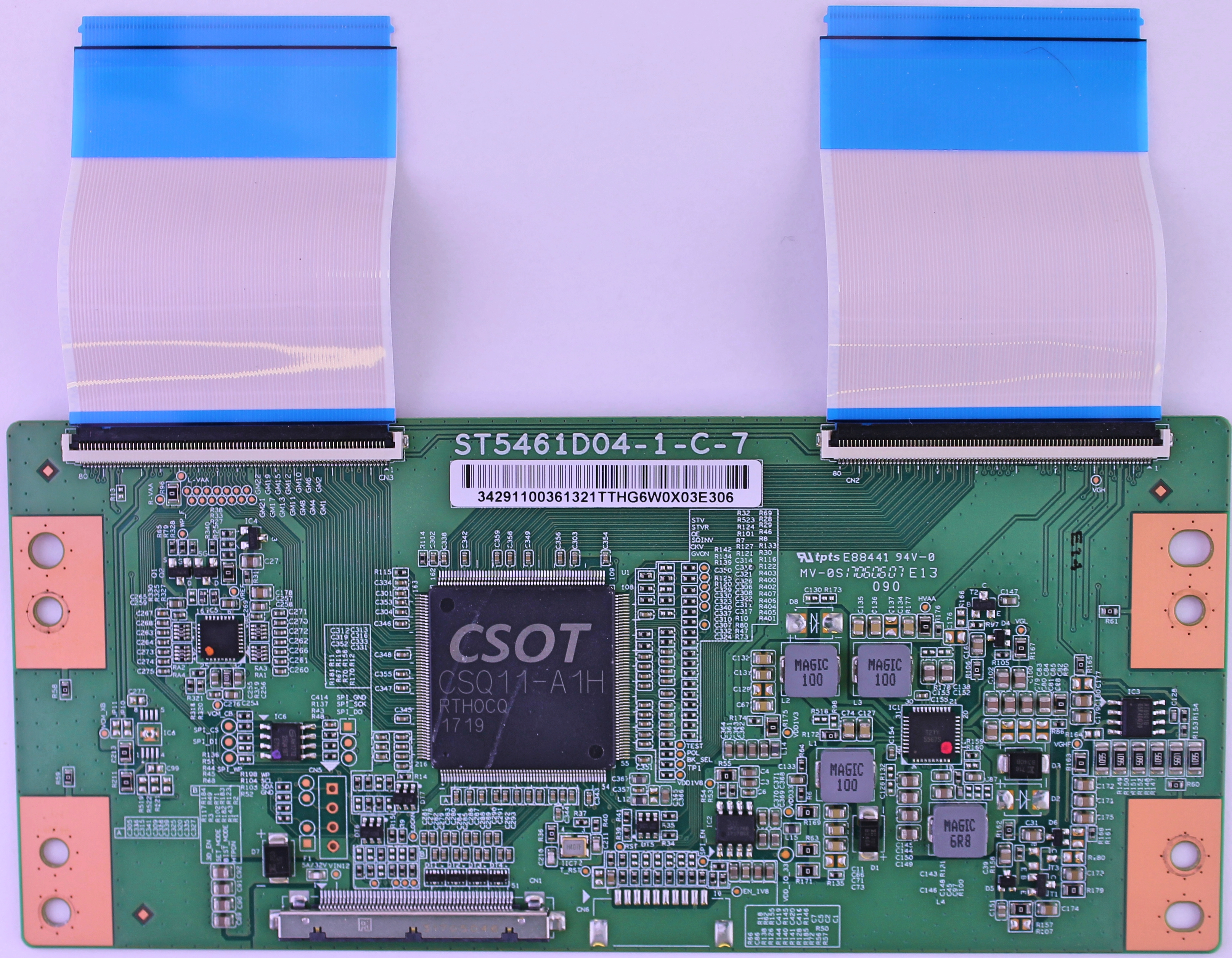 ST5461D04-1-C-7 TCL T-con board for TV model 55P607