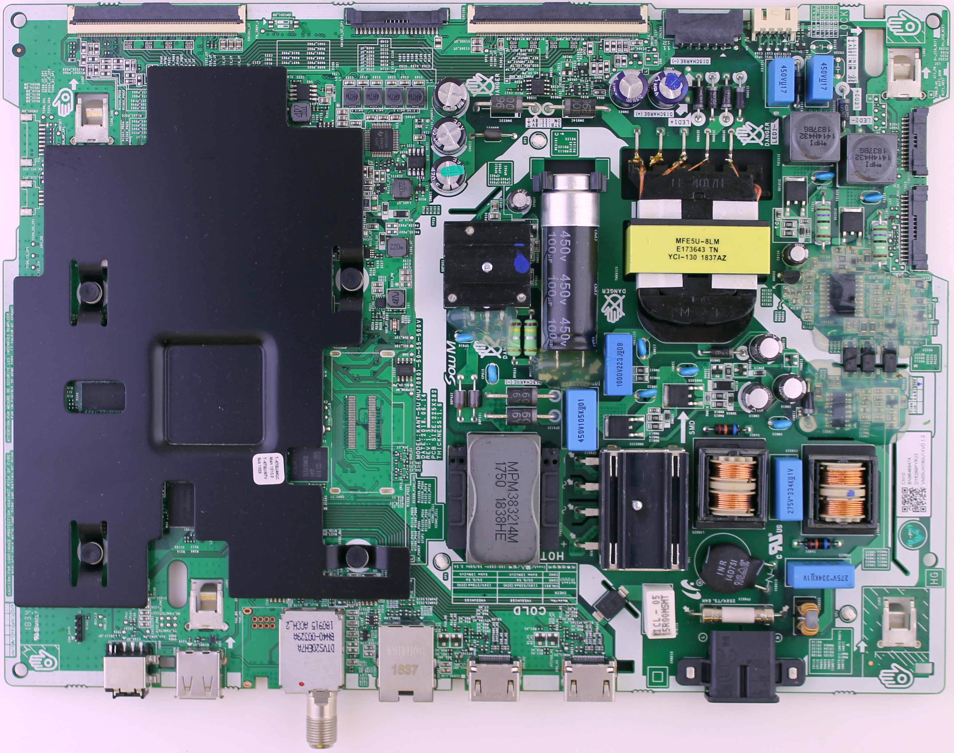 BN96-46947A Samsung main board for TV models UN55NU6900, UN55NU6950FXZA