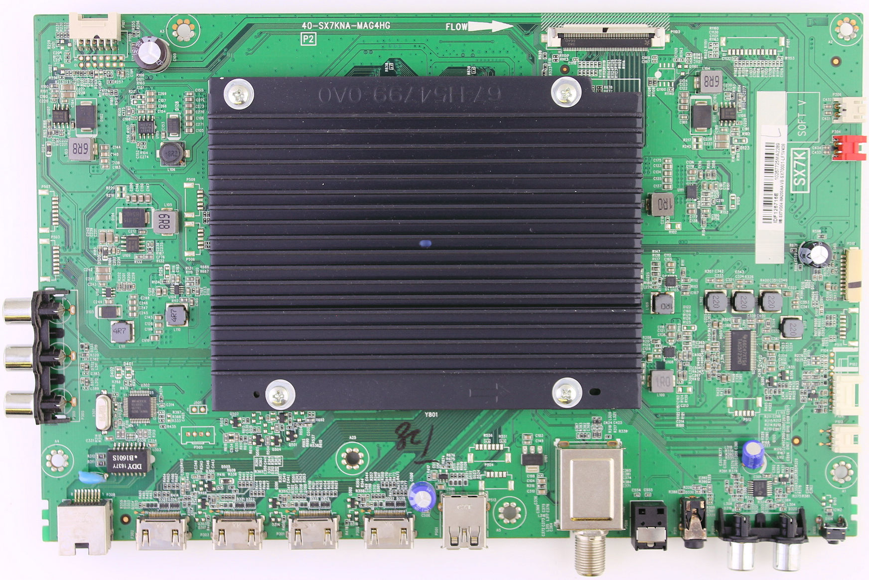 X490090R Main video board for HITACHI TV model 65R8