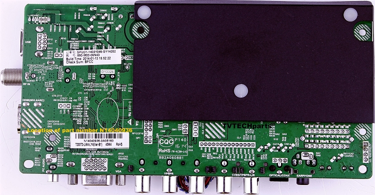 N14040936 Main board for Seiki SE20HS02 (Ver-B1)