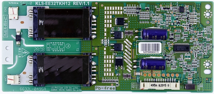 6632L-0495A Inverter board for Vizio VU32LHDTV10A