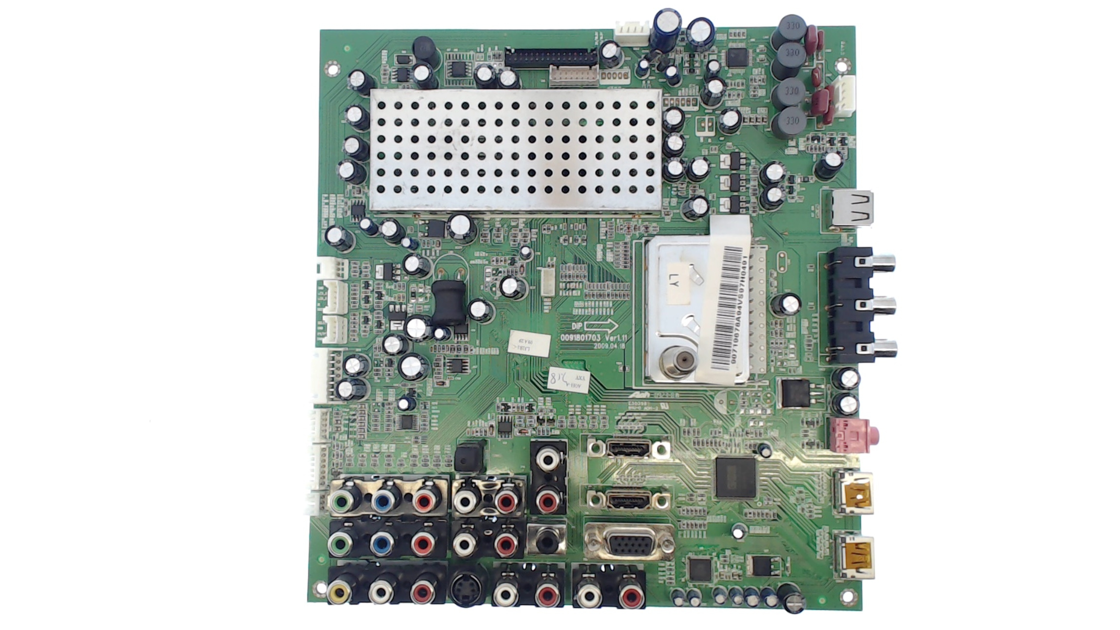 Haier TV Model HLC32R1 Main Audio video Board Part Number 0091801703