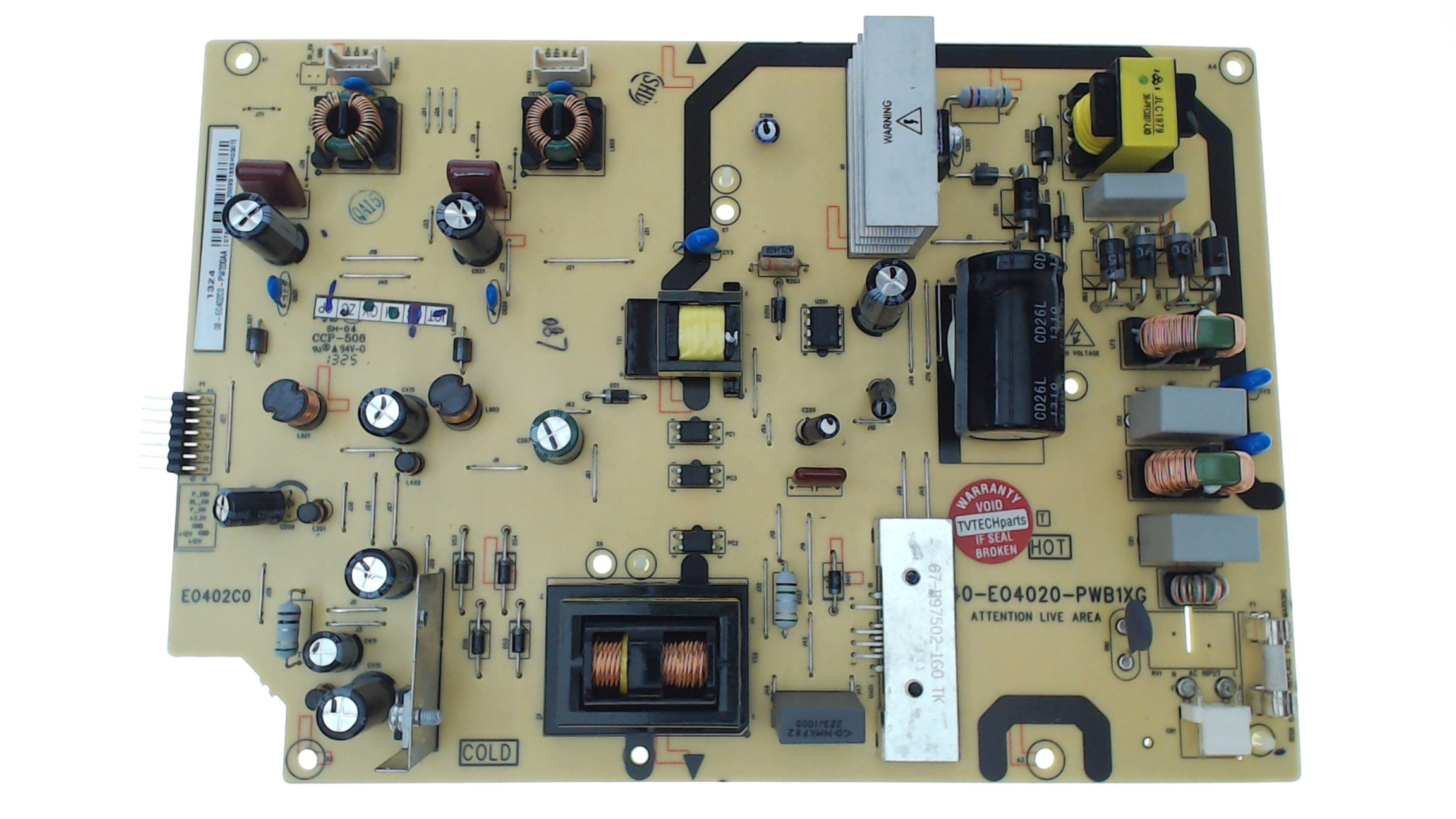 add to my lists  tcl tv model le40fhde3000 power supply board