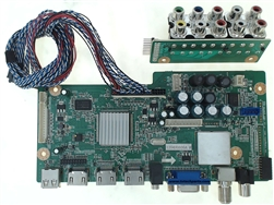 Element TV Model ELDFQ501J Main Audio Video HDMI Tuner Input Board Part Number 1204H0606A