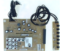 Sanyo TV Model DP50843 Audio Video Tuner Input Board Part Number 1LG4B10Y104AA Z6WS
