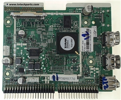 Sanyo TV Model DP46812 Main Audio Video HDMI Input Board Part Number 1LG4B10Y10800 Z5WPP