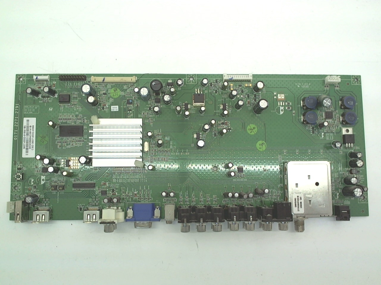 Vizio TV Model VW37LHDTV40A Main Board Part Number 3637-0332-0150