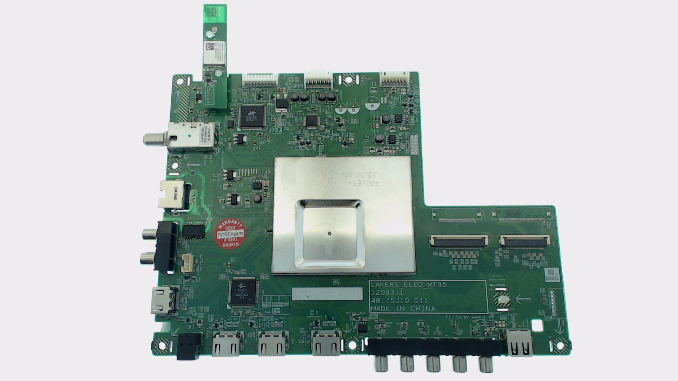 Vizio TV Model E650i-A2 Main Board Part Number 55.75J01.001G