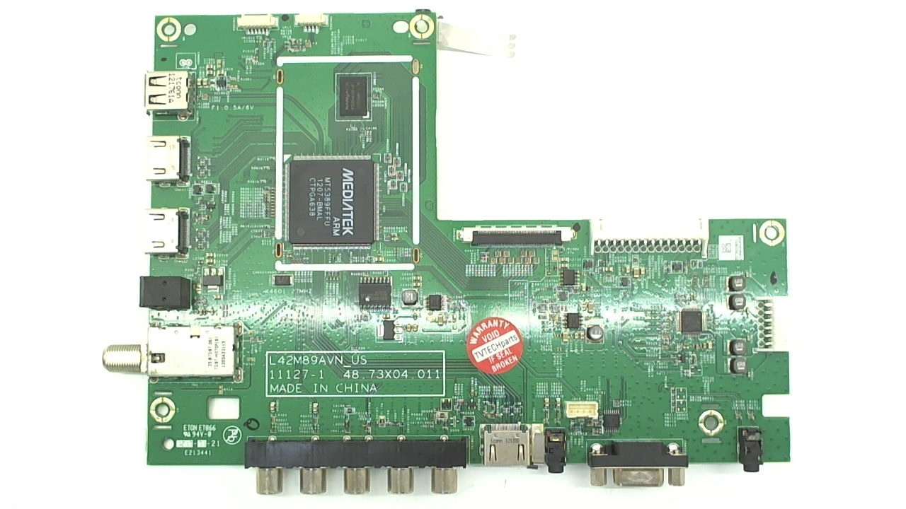 Vizio TV Model E420VSE Main Board Part Number 5573X01B01G