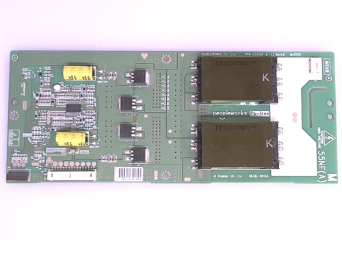 LG TV Model 55LK520-UA Master Inverter Board Part Number 6632L-0613A