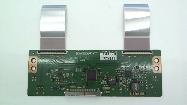 LG TV Model 50LN5700-UH T-Con Board Part Number 6871L-3256A