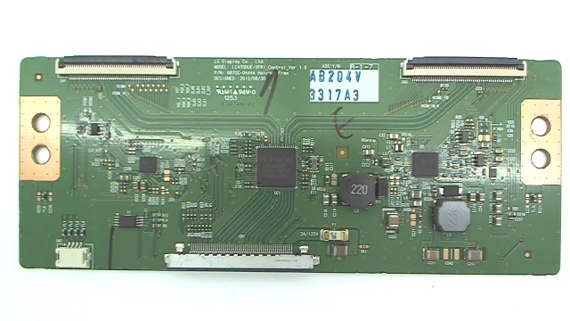Vizio TV Model M471i-A2 T-Con Board Part Number 6871L-3317A