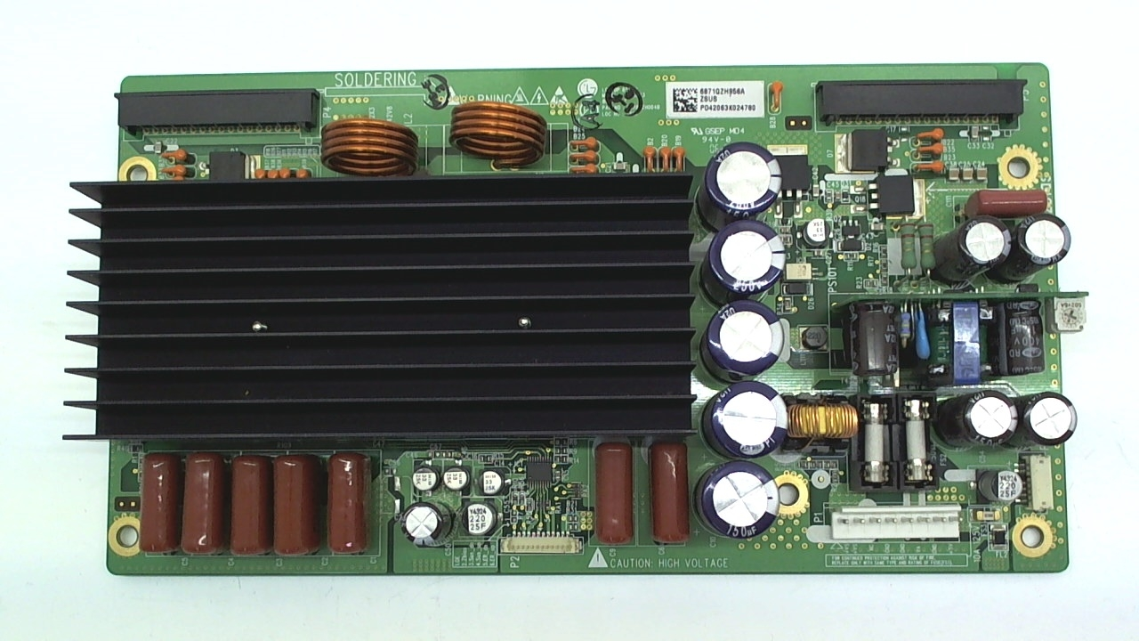 LG TV Model 42PM1M Z-Sustain Board Part Number 6871QZH956A