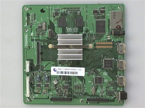 TOSHIBA TV Model 40RF350U Seine/Main Board Part Number 75006509