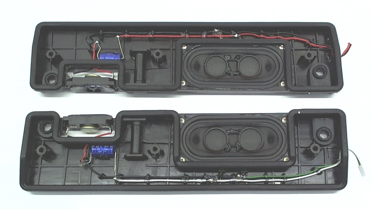 Toshiba TV Model 50L5200U Speaker Kit Part Number 75028910