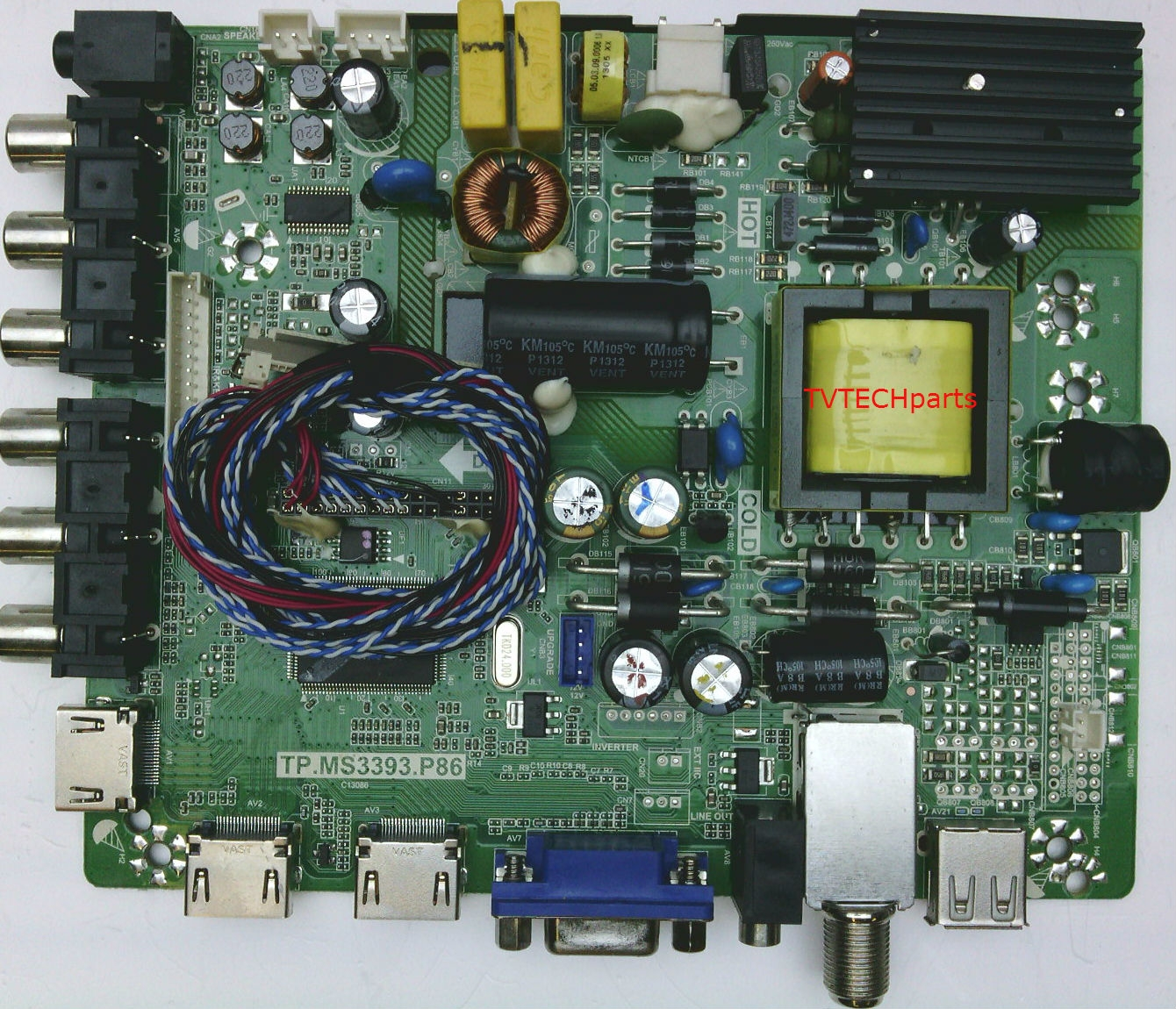 890-M00-06N07 Main video and power supply board for Seiki SC32HS01
