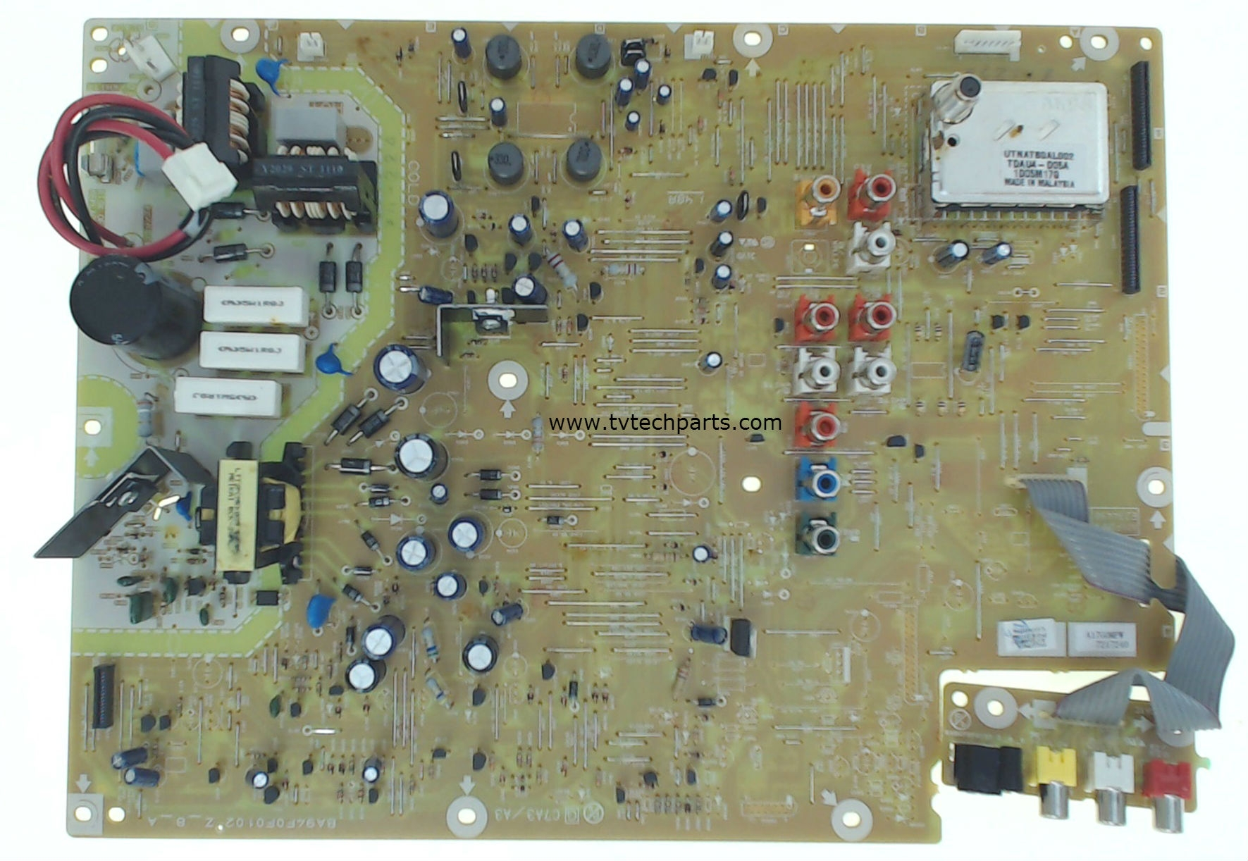 Magnavox Model 37MF301B/F7 Power Supply Board Part Number A17G0MPW-001