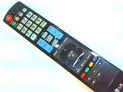 LG Remote Control Part Number AKB72914201