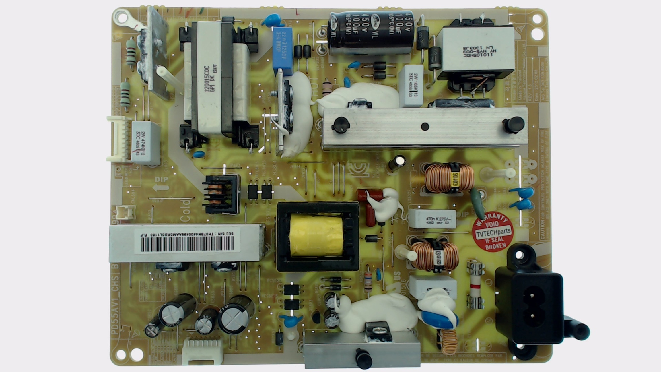 Samsung Tv Model Un46eh6000 Power Supply Board Part Number Bn44 00498a Circuit Parts Quick View