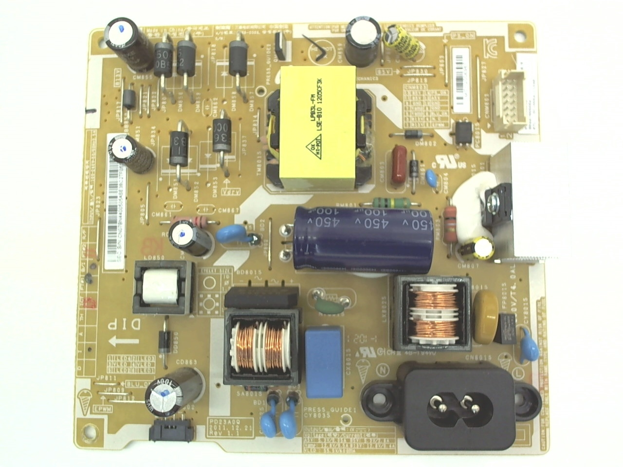 Samsung TV Model T24B350ND Power Supply Board Part Number BN44-00505A