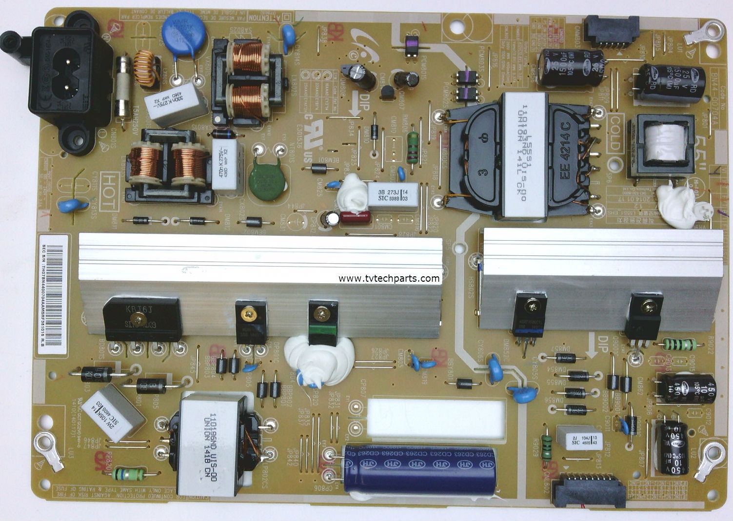 Samsung Tv Parts Diagram Bn44 00704a Power Board For Un55h6350afxza Quick View