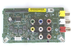 HITACHI TV Model L40A105 Input Jack Board Part Number CEK677A