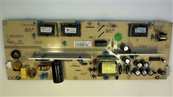 Seiki TV Model SC32HT04 Power/Inverter Board Part Number CVB32003
