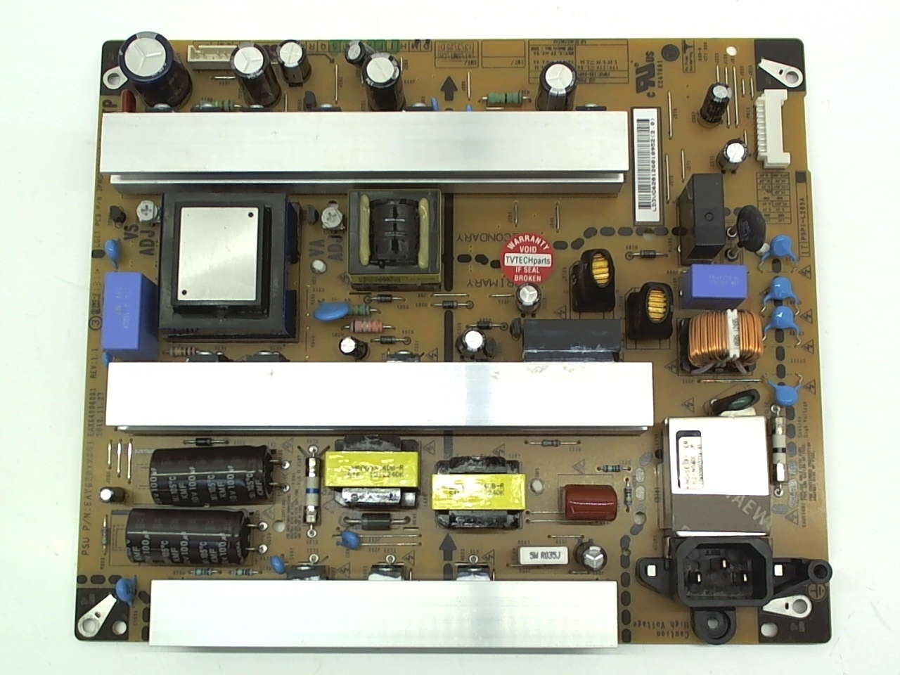 LG TV Model 50PN6500-UA Power Supply Board Part Number EAY62812601