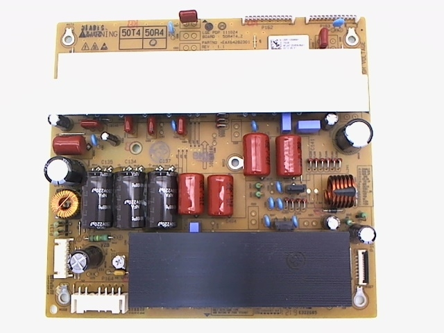 LG TV Model 50PA6500-UA Z-Sustain Board Part Number EBR74306901