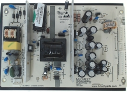 Seiki TV Model SE391TS Power Supply Board Part Number MP022-TF