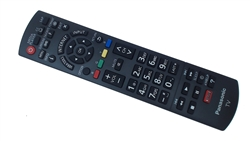 Panasonic TV TC-P65S60 Remote Control Part Number N2QAYB000827