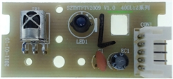 Seiki Television Model SE501TS Remote Control Receiver Board Part Number SZTHTFTV2009 Ver:1.0