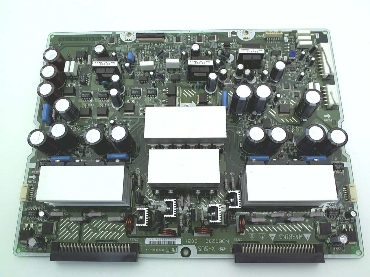 Hitachi TV Model 55HDS69 X-Sustain Board Part Number TS06612