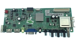 TCL TV Model LE32HDE3000TBAA Main Audio/Video Board Part Number V8-0RSC808-LF1V012