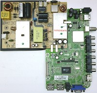 35J0880, CV3393BH-APW Main video and power supply board for SEIKI SE39FT11